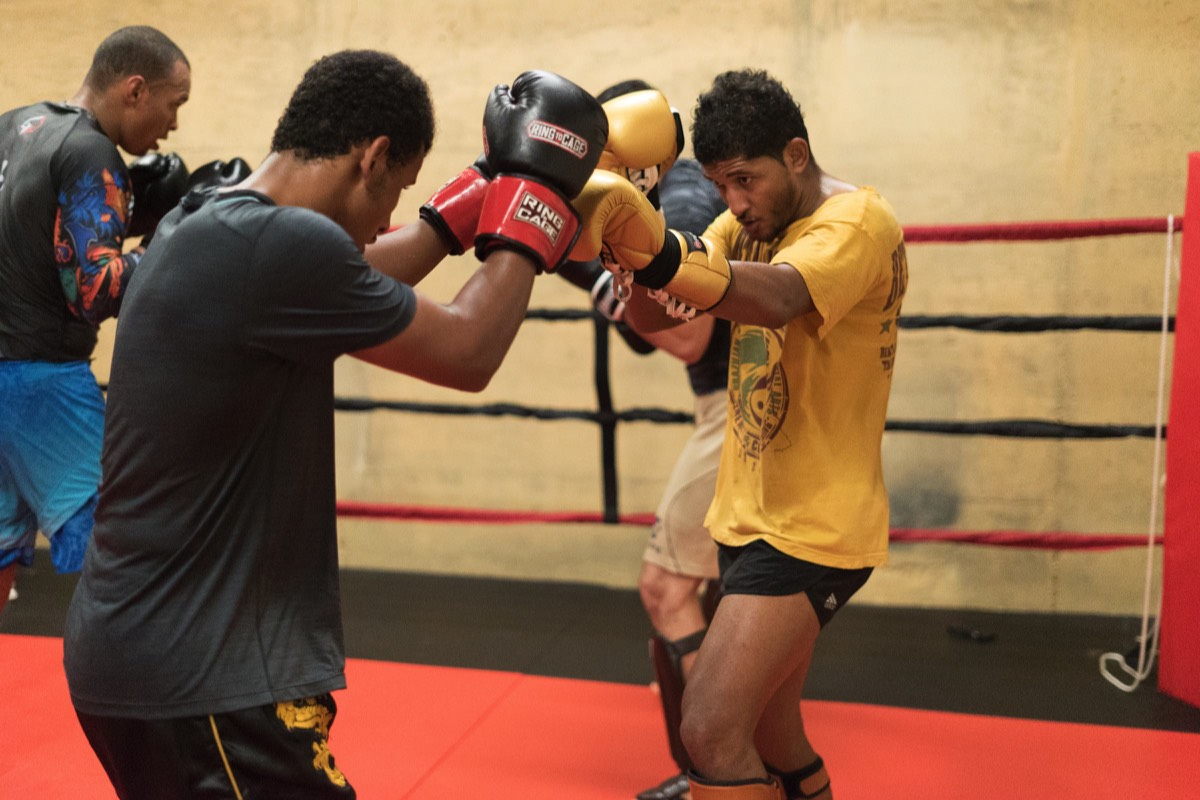 beta academy training sparring muay thai